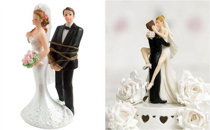 Wedding & Love: 10 украшений для свадебного торта, демонстрирующих...