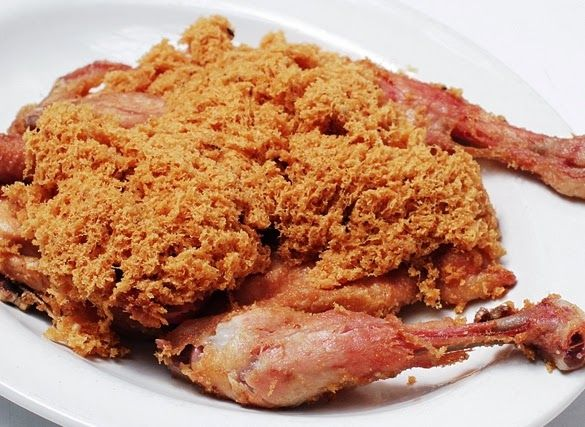 Ayam Goreng Kremes Ny. Suharti yang ASLI ( Fried Chicken Kremes Mrs. Suharti original recipe)
