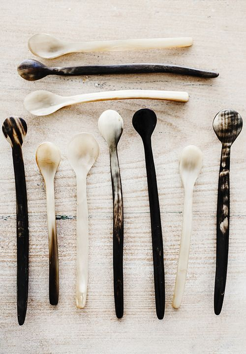∷ Variations on a Theme ∷ Collection of Asian Spoons
