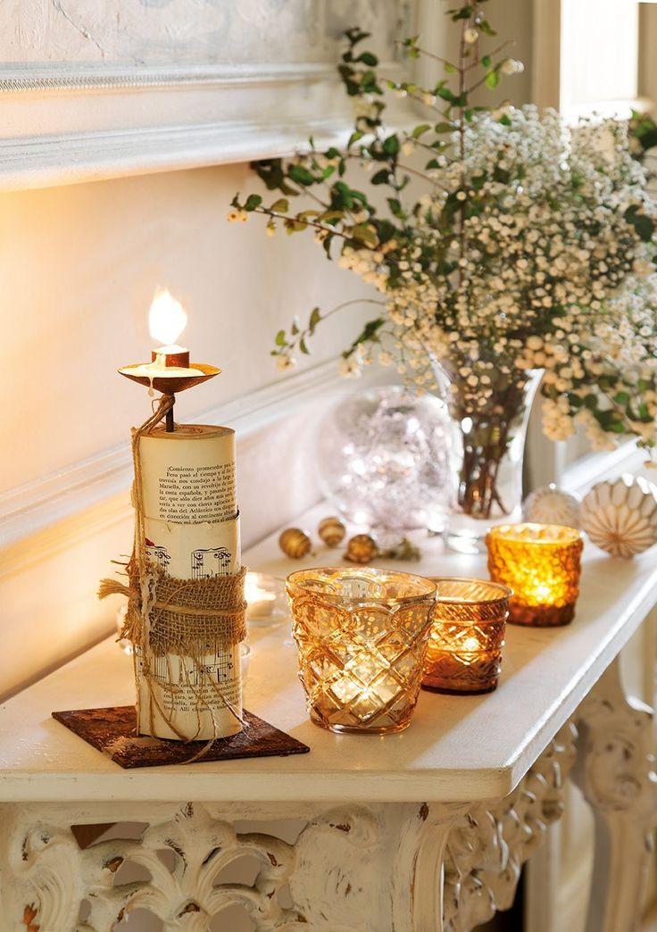 Noël blanc lumineux en Espagne
