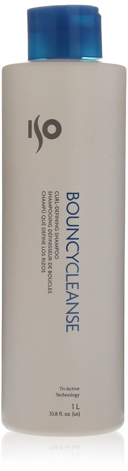ISO Bouncy Cleanse Curl-Defining Shampoo, 1L (33.8 fl.oz) *** You can get more details by clicking on the image. #hairfashion