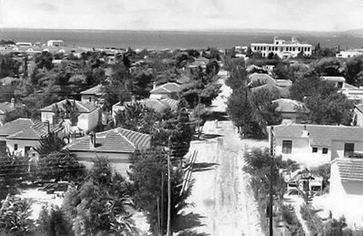 Καλαμαριά - οδός Μητρ. Χρυσάνθου το 1955