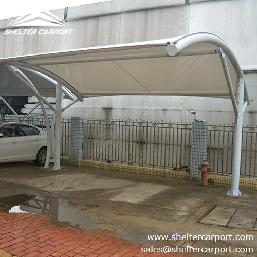 It seems that #tensileparkingshade with simple structural feature sales better but I have to & 25 best Sunshield Shelter Membrane Carport with PVC Tension images ...