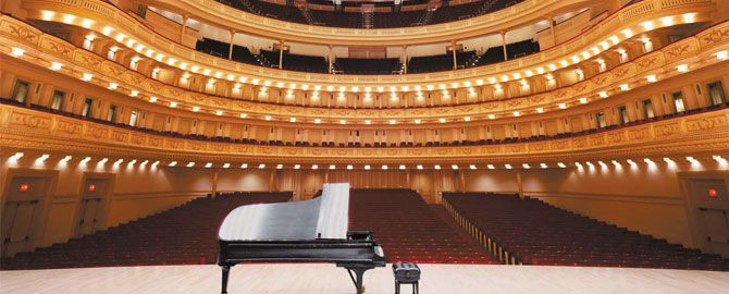 Carnegie Hall Tour | Tours of Carnegie Hall, NYC