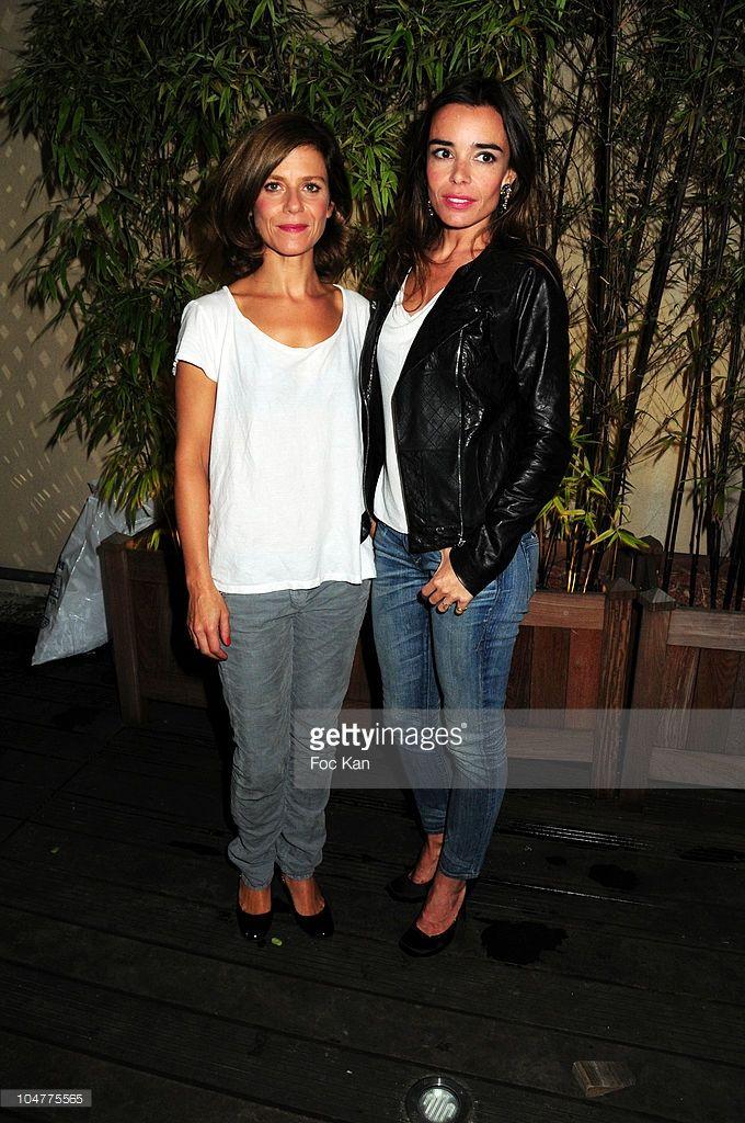Photo d'actualité : Actresses Marina Fois and Elodie Bouchez attend...