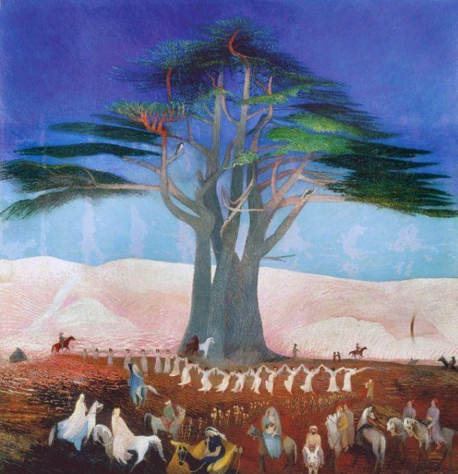 The Pilgrimage to Lebanon by Csontváry Kosztka Tivadar
