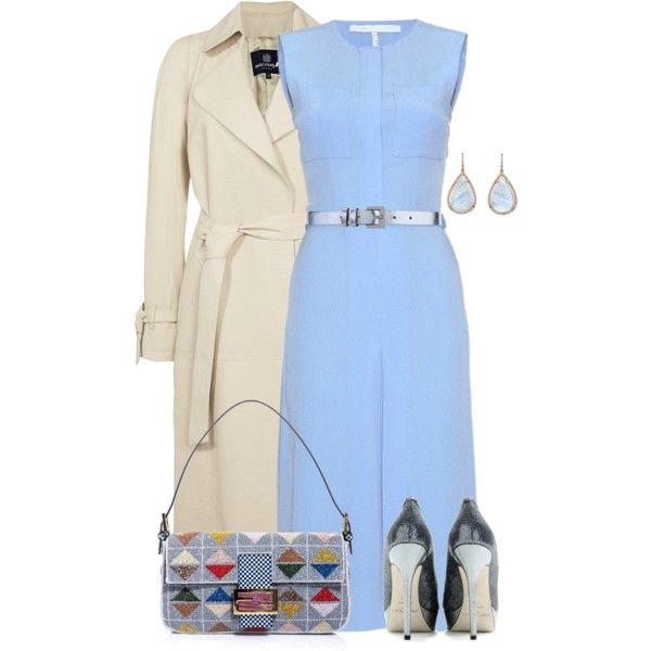 Victoria Beckham Dress by yasminasdream on Polyvore
