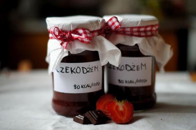 Walnut Kitchen: Czekodżem truskawkowy/ strawberry choco-jam
