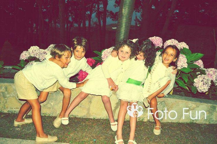 Beautiful children old fashion retro style