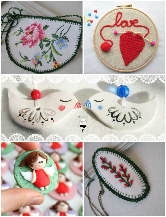 Colier de la Incrafts / Tablou de la Ralooland / Decoraţiuni de la Șapte pisici / Broşă de la Nicomade / Colier de la Incrafts