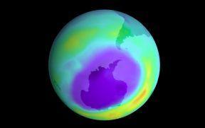 ozone layer earth aerosol repair