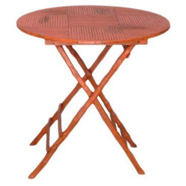 Check out this item at One Kings Lane! Anneliese Folding Table, Orange