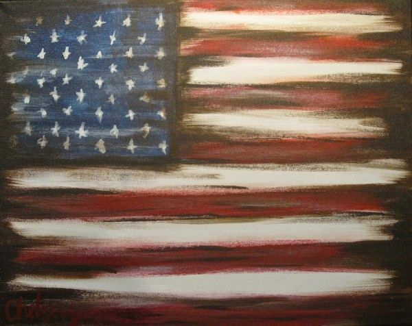patriotric/4th of July painting ideas
