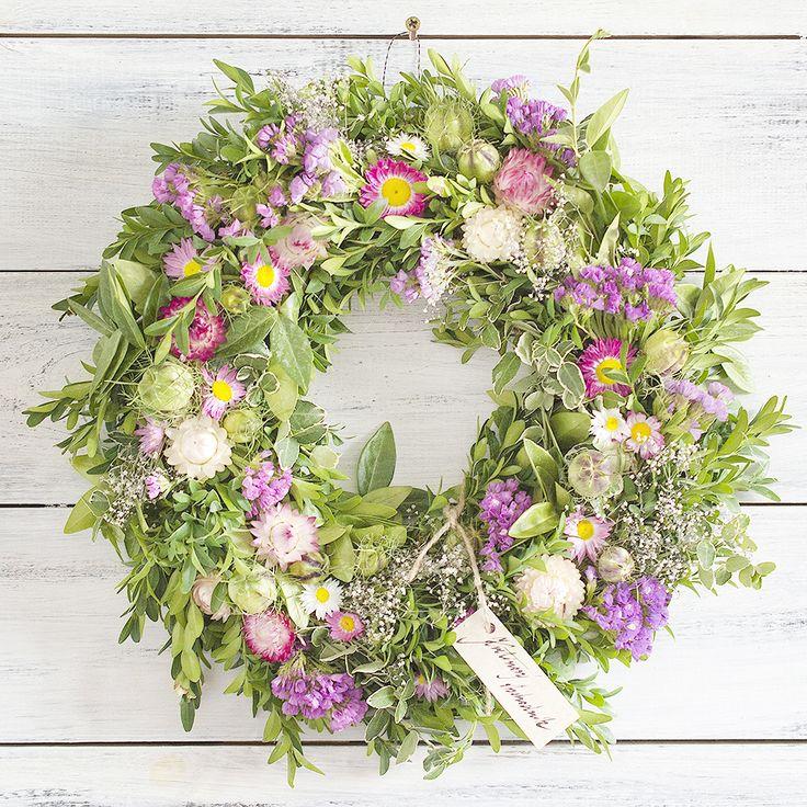 Floral wreath, natur decor
