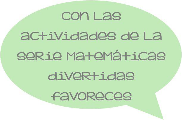Matemáticas para Preescolares es parte de la serie matemáticas divertidas. Actividades y propuestas para hacer en casa. mimamadice.com