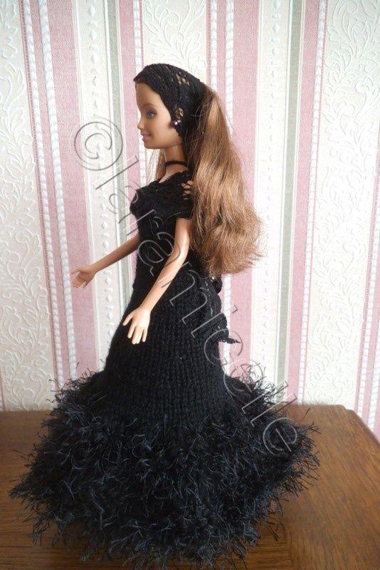 tuto gratuit barbie : robe de soirée - Chez Laramicelle en ...