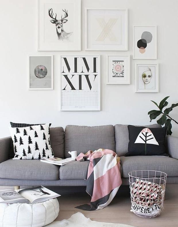 Cinza e malva são as cores do ano na decoração