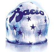 Bacio Perugina ....Made in Italy These were so good!  Italy's version of the Hersey Kiss.  Bacio = bec = kiss