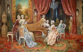 Коллекция картинок: Галантный век (художники Himmapaan, August Stephan Sedlacek и Heinz Pinggera)