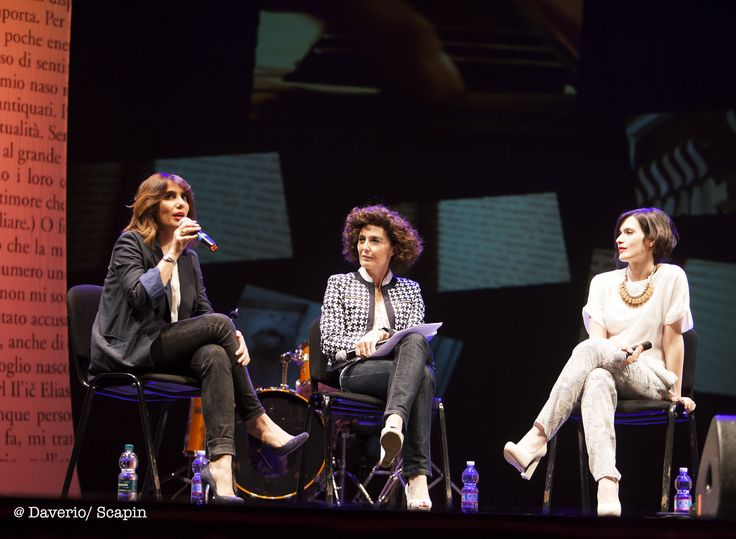 Paola Maugeri, Nicoletta Polla-Mattiot e Erica Mou
