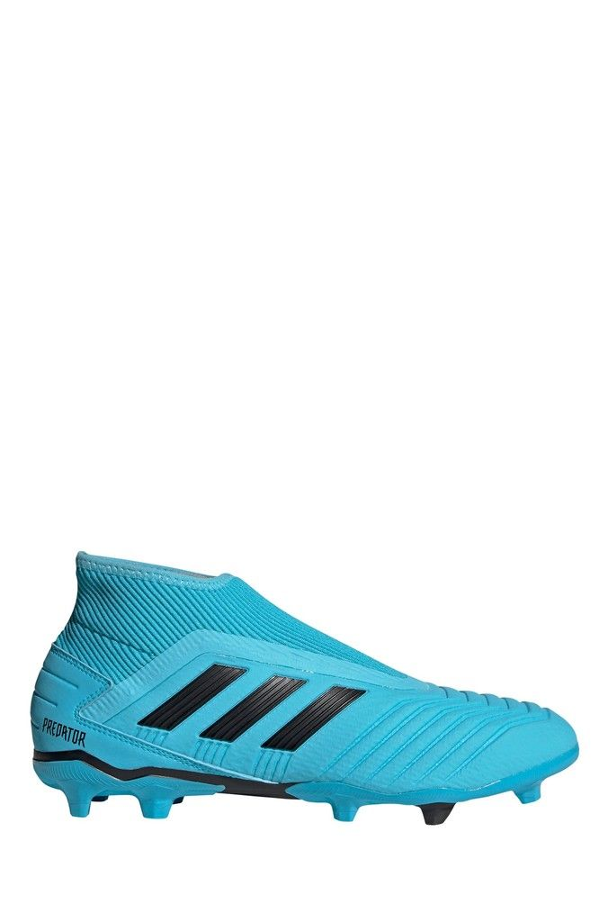 Mens Adidas Blue Hardwired Predator Laceless Firm Ground Football Boots Blue Cool Football Boots Football Boots Blue Adidas