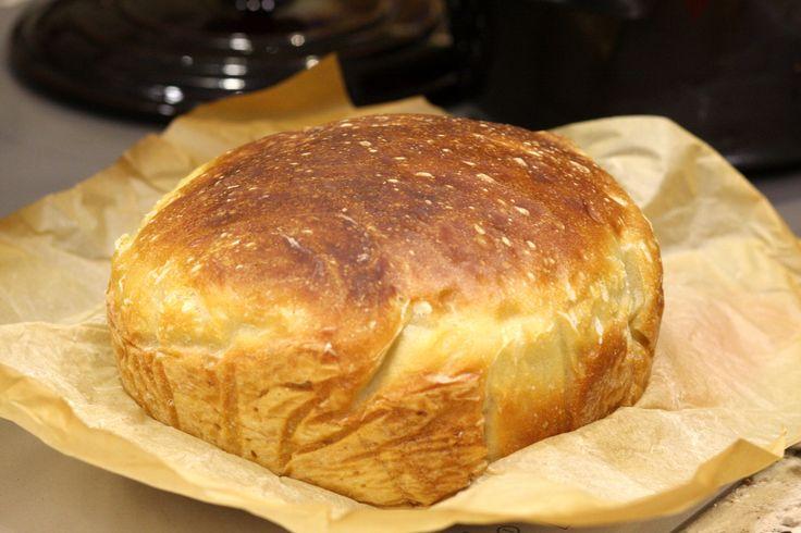 Łatwy, pszenny chleb - My Blueberry Corner