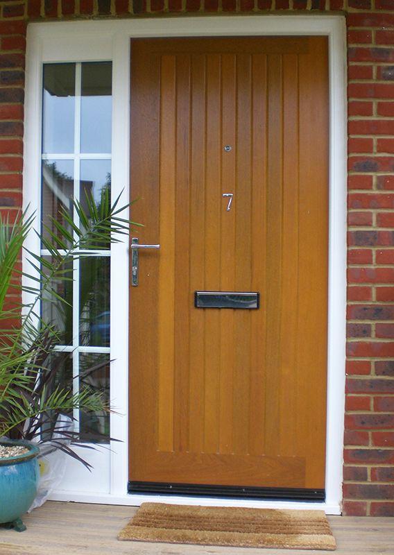 QTE 8   Hardwood Insulated Door Sets