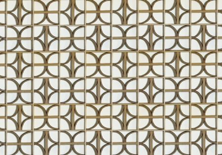 Patterns. wool - felt wall panel