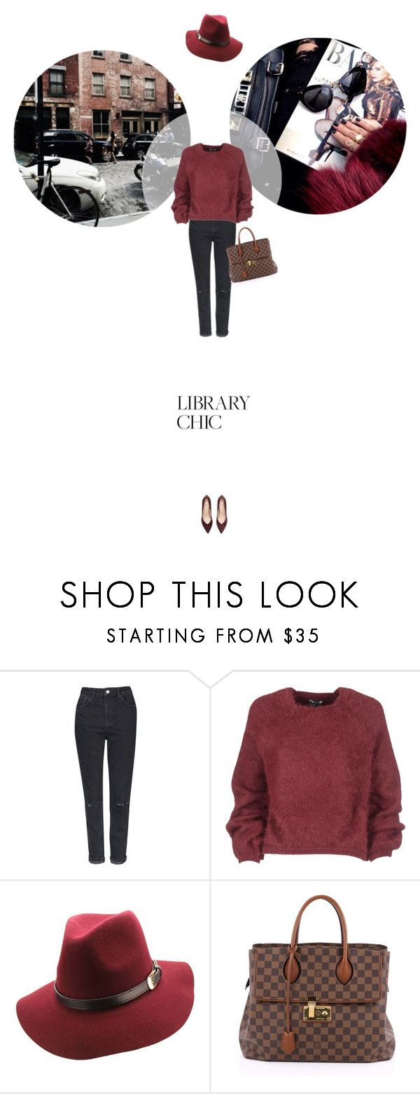 // 1326. Study Session: Library Chic. by lilymcenvy on Polyvore featuring Tom Ford, Topshop, Louis Vuitton and librarychic