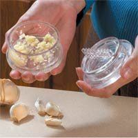 GARLIC TWIST CRUSHER, MINCER, PEELER TOOL - CLEAR by Babytree. $15.99. Already a winner of numerous industry awards the 3rd generation. Garlic Twist has been updated inside and out. Consisting of just two parts, with cross-cutting teeth to do the hard work for you, the Garlic Twist makes it easy to mince garlic, ginger, carrots, shallots and peppers in seconds. Polycarbonate. The Garlic Twist is a handy little tool that is fun and easy to use. It is designed to replace the proble...