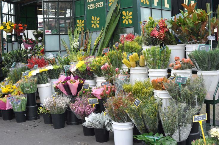 Spring Flowers at Queen Victoria Market