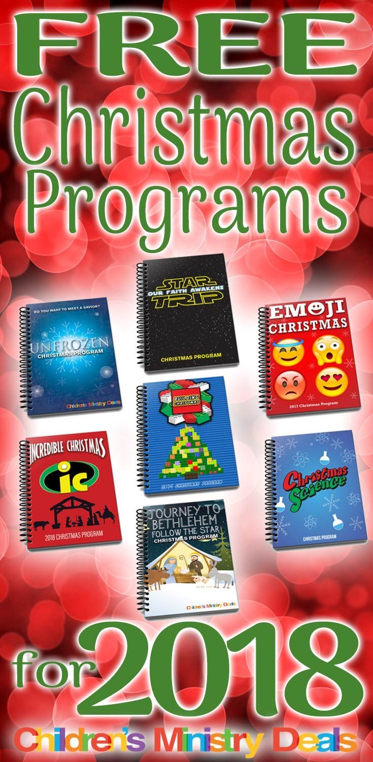 FREE Christmas Programs for 2018 | Children\'s Skits/Dramas ...
