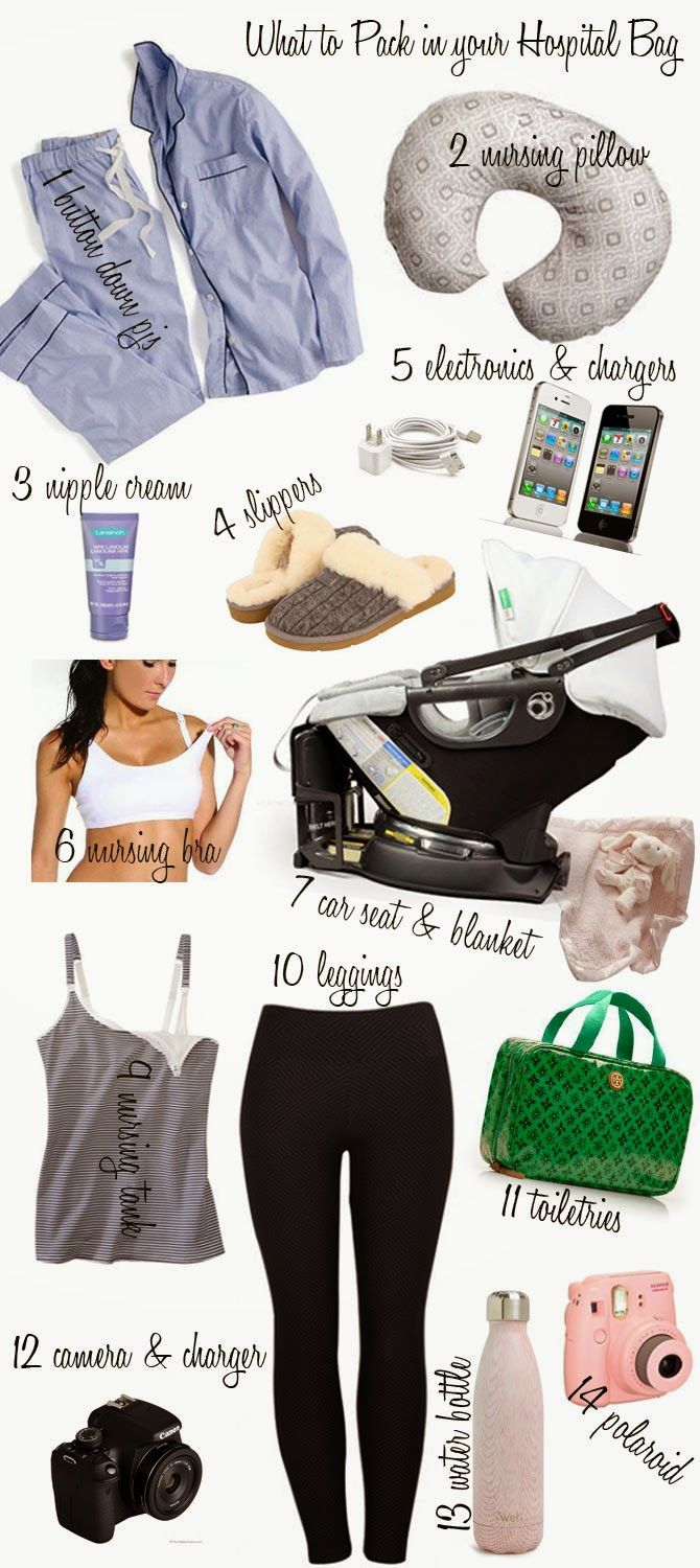 Cella Jane // Fashion + Lifestyle Blog: What to Pack in Your Hospital -Baby Delivery