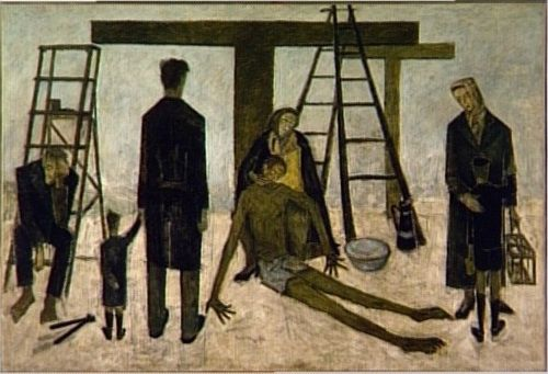 Pietà by Bernard Buffet (The National Museum of Modern Art, Paris)
