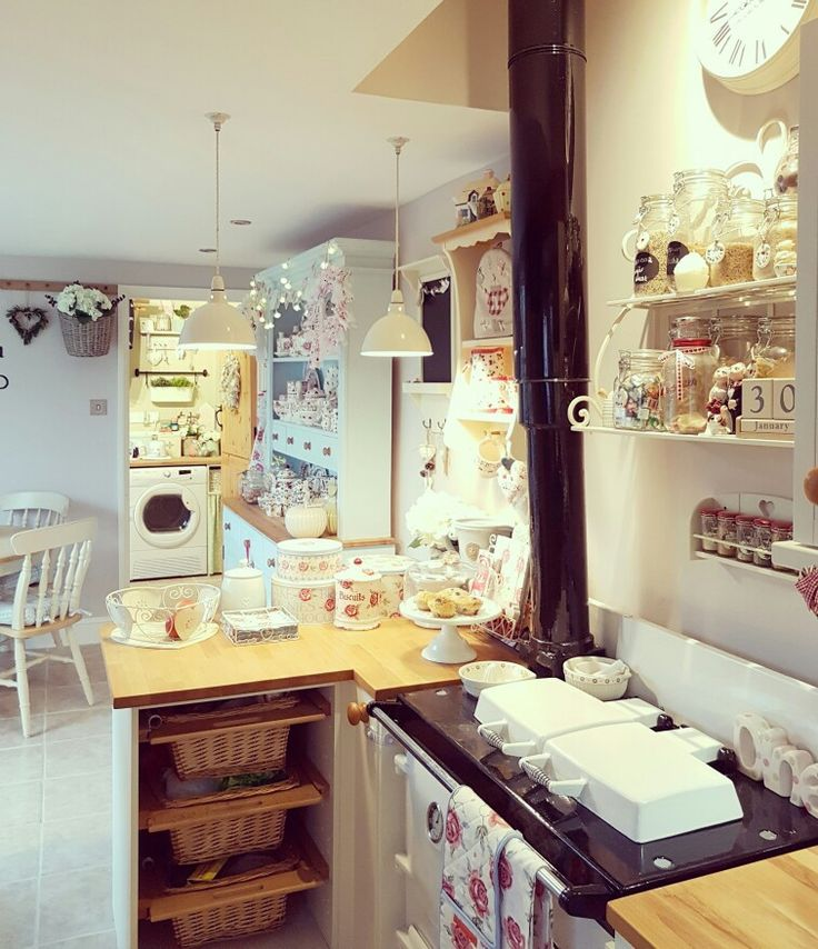 Shabby Chic Kitchen Decor Pictures: 1715 Best Shabby Chic Kitchens Images On Pinterest