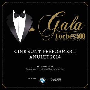 Gala Forbes 500 Business Awards