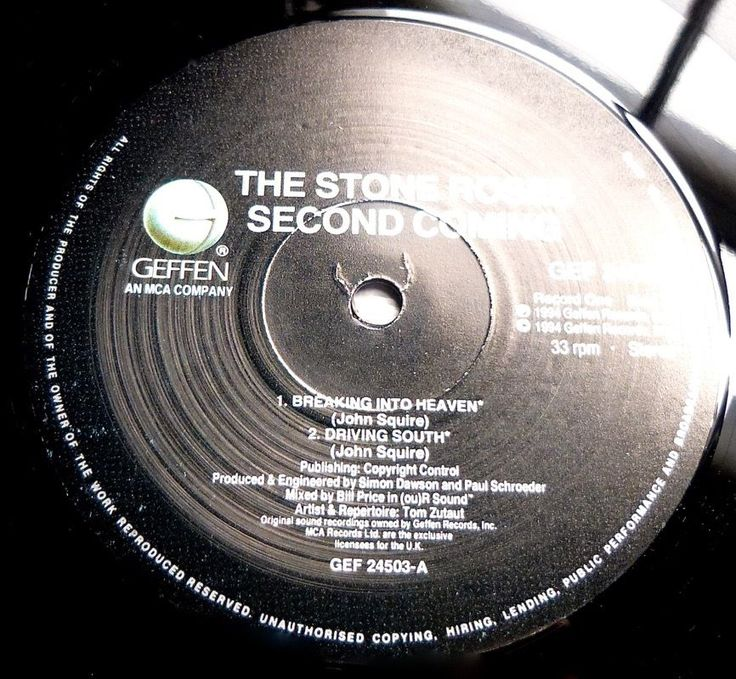 THE STONE ROSES Second Coming 1994 UK GEFFEN 2LP UNPLAYED/MINT