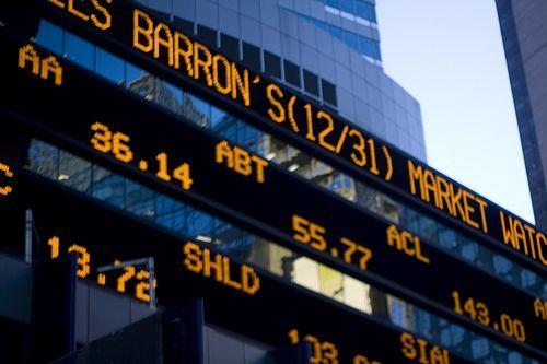 stock ticker | The LogoVore