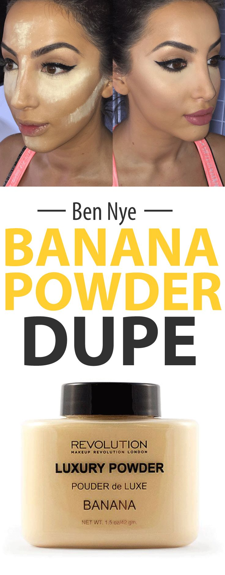 OMG! This Ben Nye Banana Powder Dupe is only £5...