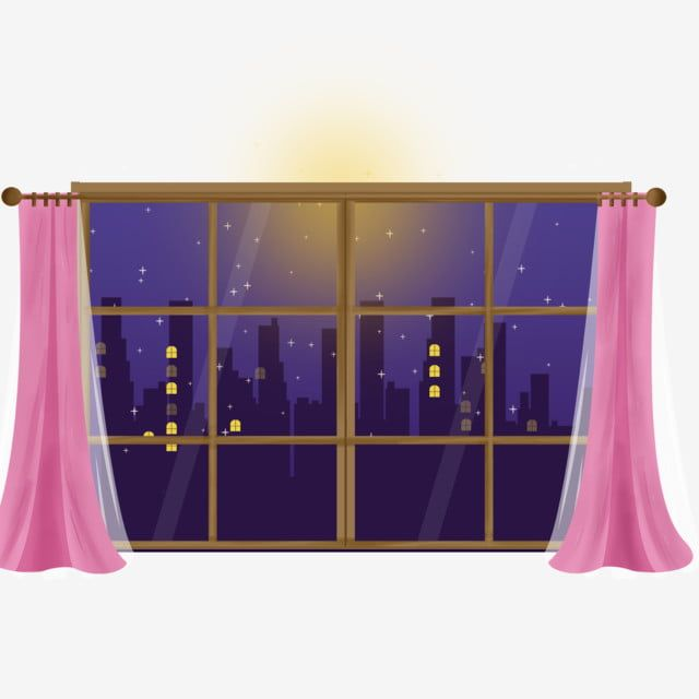 تصميم نافذة ستارة كارتون كرتون توضيح نافذة او شباك Png وملف Psd للتحميل مجانا In 2020 Window Design Curtains Design