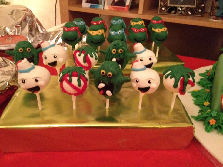Ghostbusters Cakepops