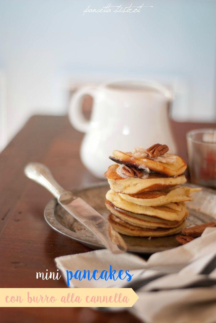 Pancetta Bistrot - ricette creative dall'Italia e dal mondo: Mini pancakes con burro alla cannella di Donna Hay...