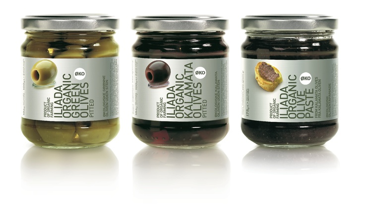 Organic pitted olives and organic Kalamata olive paste. Simple and delicious!