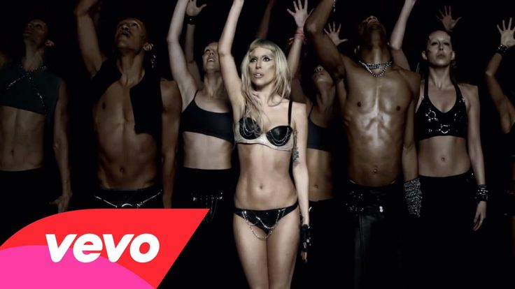 """LADYGAGA - BORN THIS WAY - Because this MV is creative and energetic choreography combine with """"funky"""" character of Lady Gaga. This song can express the non-discrimination, regardless of what you are, you are being yourself and perfect in your own way."""