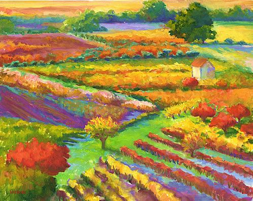 Le Jardin - contemporary french garden landscape art. Copyright 2001-2004 Julia Watkins. All rights reserved.