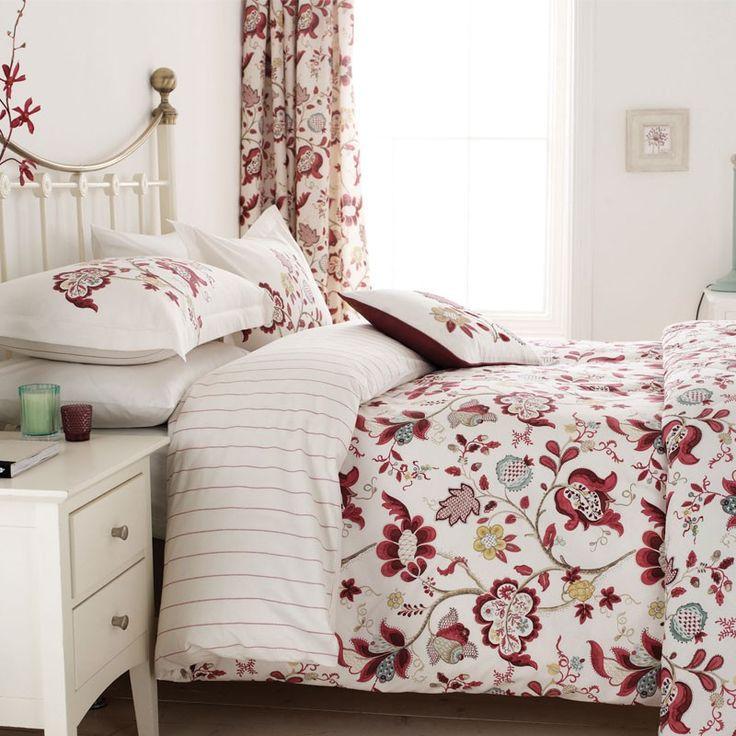 Roslyn Bedroom Furniture Set: Sanderson Roslyn Bed Linen At Bedeck