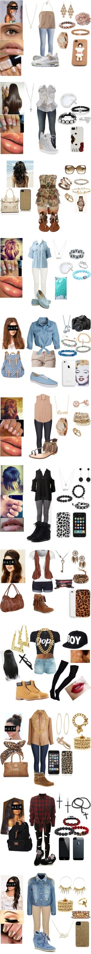 """Swag Outfits !"" by nikki-liburd ❤ liked on Polyvore"