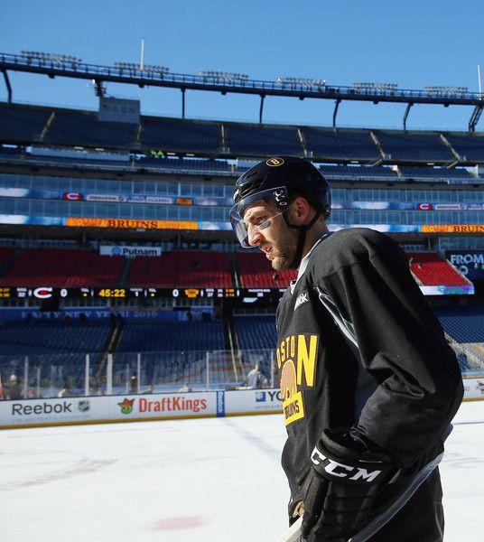 Patrice Bergeron Photos - 2016 Bridgestone NHL Winter Classic - Practice Day - Zimbio