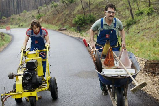 """""""Prince Avalanche"""" Sundance Film Festival review: Paul Rudd and Emile Hirsch star in David Gordon Green's indie comeback."""