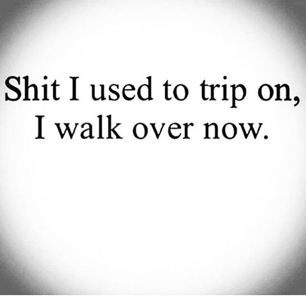 """On getting stronger as time passes. 